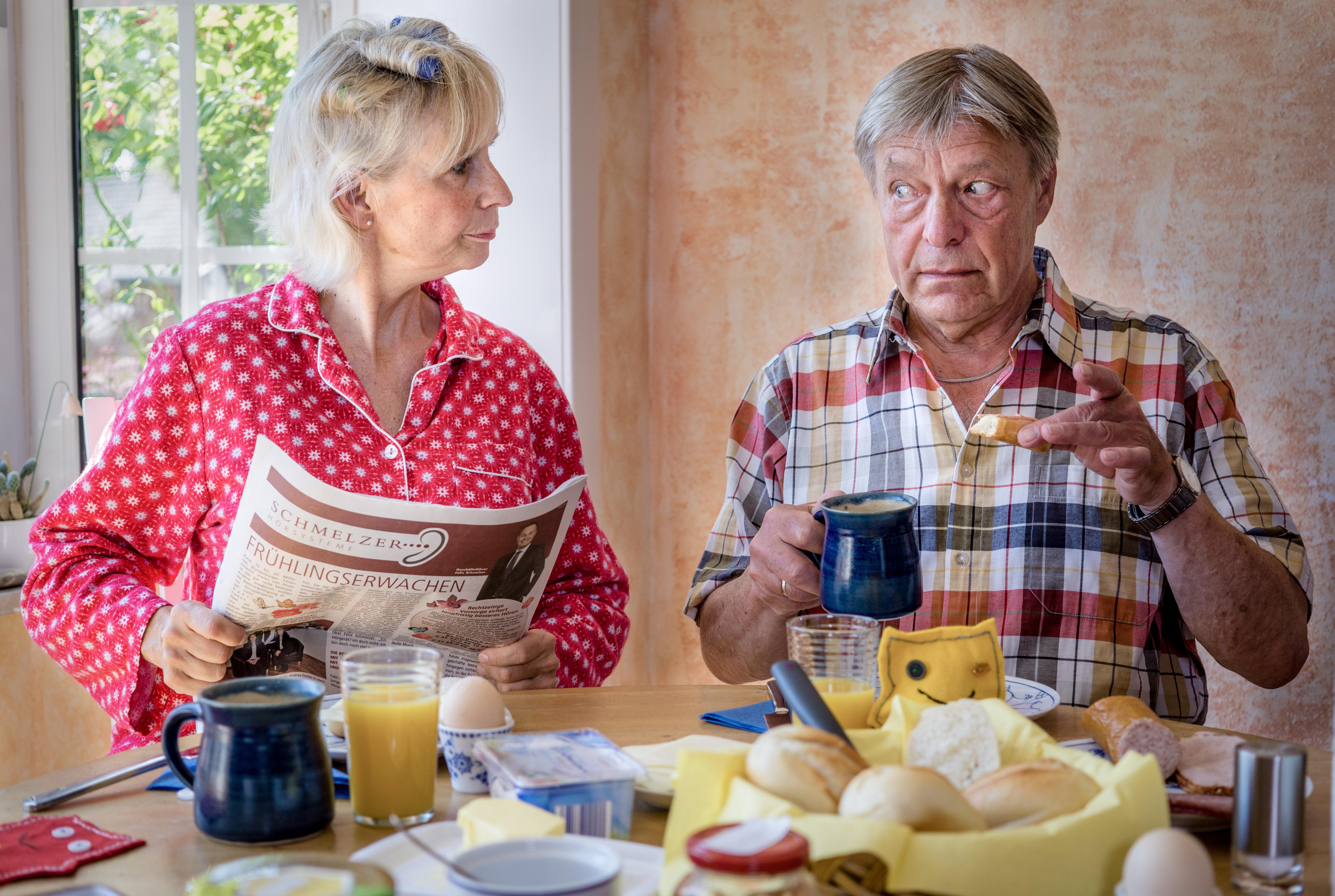 Frühstück bi Kellermanns_Christine Henze, Werner Otto