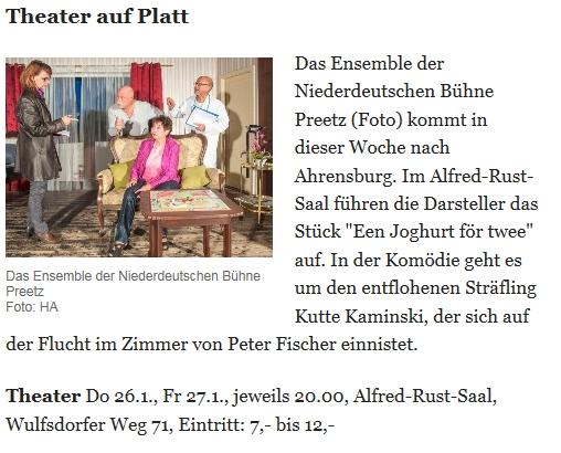 Abendblatt 26.01.2017